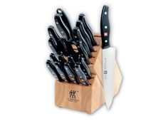 19-pc. Twin Signature Knife Block Set by Zwilling J.A. Henckels at Cooking.com #holidaycooking