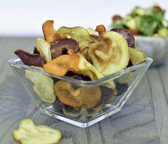 Amazingly crispy sweet potato chips recipe