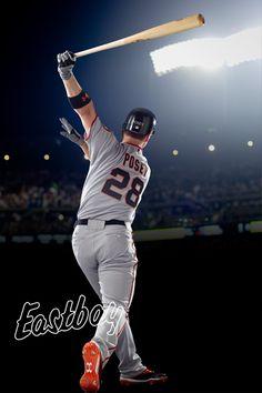 Buster Posey, Catcher, San Francisco! #MLB #Baseball #Eastbay @Eastbay