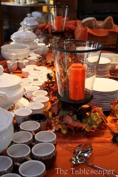 Columbus Day Soup And Salad Party With Images Soup Dinner Soup And Salad Fall Brunch