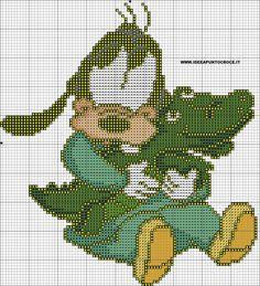 schemi punto croce disney, disney cross stitch