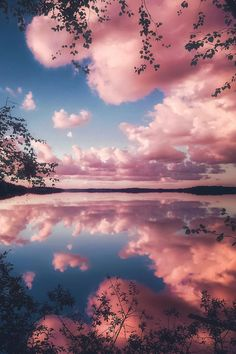 Beautiful Cloud Reflection ~