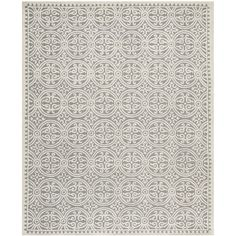 Safavieh Handmade Moroccan Cambridge Silver Wool Rug (9' x 12') | Overstock.com Shopping - The Best Deals on 7x9 - 10x14 Rugs