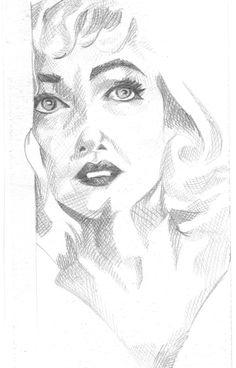 Marilyn - esolomon art