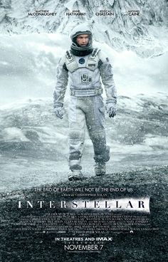 Matthew McConaughey explores icy planet in new poster for Interstellar