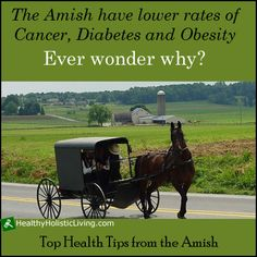 Are the Amish doing something different that gives them and advantage health wise? The latest study
