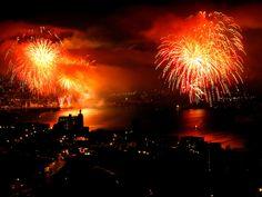 Año nuevo 2011  en Valparaíso