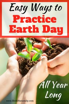 Learn easy Earth Day ideas to help your family respect the earth and Creator. Grab some related Bible verses and get a simple but effective non-toxic trick for a sparkling clean house for 38 cents.