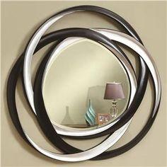 Accent+Mirrors+Two-Tone+Contemporary+Mirror
