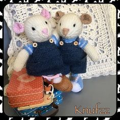 Little mouses from little cotton rabbits