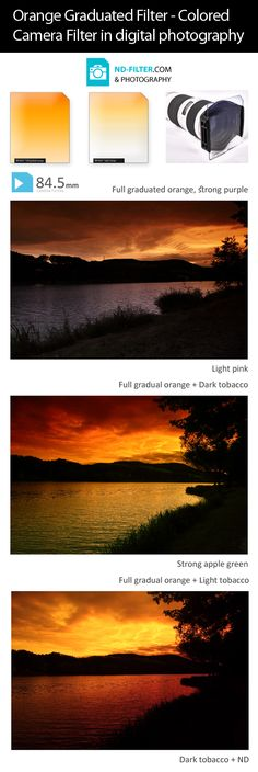 ND-filter.com & Photography: Orange Graduated Filter - Colored Camera Filter in digital photography: http://nd-filter.com/classic-line-color-graduated-filters-colour-effect-filters/195-strong-orange-graduated-filter-colored-camera-filter-soft-gradation-square-p-type-845-x-100mm-classic-line.html
