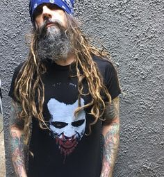 """27.9k Likes, 145 Comments - RobZombieofficial (@robzombieofficial) on Instagram: """"Get your Doom-Head shirts before they are all gone... which will be soon. Go to…"""""""