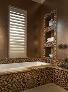 Master bathroom deco