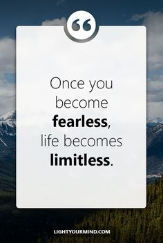 Once you become fearless, life becomes limitless. | Motivational quotes for success | Goal quotes | Passion quotes | Motivational Quotes | Procrastination quotes | motivational quotes for life |procrastination quotes no excuses  #success #quotes #inspirational #inspired #quotesoftheday #instaquote #qotd #words