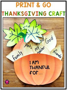 Simple and Easy Thanksgiving Crafts are great for kids to make using the printables that are included in this cute pumpkin Thanksgiving Craft Pack. Copy on construction paper the pumpkin, leaves, and pumpkin seeds. Add crayons, scissors, glue, and pencils. Check out this printable Thanksgiving Craft for kids packet and see how to turn your classroom bulletin boards into the perfect Thanksgiving scenes and give parents the best Thanksgiving keepsake craft. #thanksgivingcraftsforkids Holiday Activities, Kindergarten Activities, Classroom Activities, Preschool Learning, Educational Activities, Thanksgiving Bulletin Boards, Thanksgiving Crafts For Kids, Thanksgiving Activities, Fall Classroom Decorations