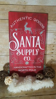 Looking for the Christmas present that would fill her? Do not panic, here is a bespoke selection to make a no-fault. Christmas Wooden Signs, Christmas Projects, Christmas And New Year, Christmas Home, Holiday Crafts, Vintage Christmas, Christmas Decorations, Christmas Ornaments, Christmas Ideas