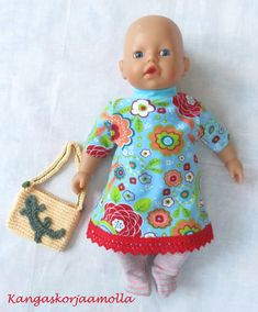 Kaavat nukenvaatteisiin Doll Clothes, Summer Dresses, Dolls, Fashion, Baby Dolls, Moda, Baby Doll Clothes, Doll, Fasion
