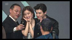 W Two Worlds, Lee Jong Suk, Second World, Couple Photos, Music, Cute, Youtube, Cherry, Couple Shots