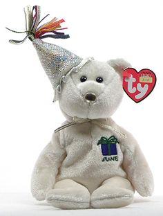 94c5ddffe39 June (birthday) - 2nd series - Ty Beanie Babies