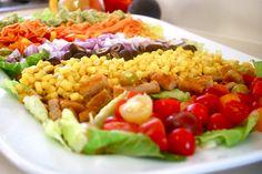 Vegan Mexican Fiesta Salad | Healthier Steps