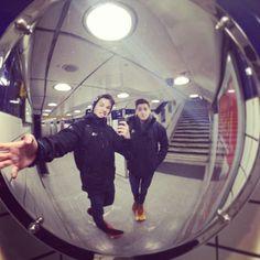 Skateboarding through the London Underground! #JacksGap & #FinnHarries
