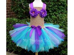 Little Mermaid Tutu Dress by MyPreciousTutu on Etsy