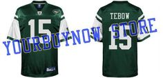 Tim Tebow New York Jets #15 Jerseys Green Authentic Football Jersey (Size Medium, Large, X-Large,XX-Large,XXX-Large) (XL/52) by Jets 15 Tebow. $30.00. Tim Tebow New York Jets #15 Jerseys Green Authentic Football Jersey (Size Medium, Large, X-Large,XX-Large,XXX-Large)? We have the best quality, best communication,24 hours at any time to be able to serve you, let more fans can buy here in our own beautiful shirt,  Providing quality player's name and excellent services with com...