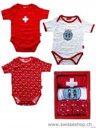 3er Set Baby-Body SCHWEIZ / Switzerland is one of the best baby-body in Switzerland. Everyone buy it in our shop.