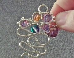 Exclusive Jewelry-Making How-To: Make a Baroque Wire Pendant from Gayle Bird - Jewelry Making Daily - Blogs - Jewelry Making Daily