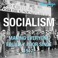 Socialism is a philosophy of failure, the creed of ignorance, and the gospel of envy, its inherent virtue is the equal sharing of misery.