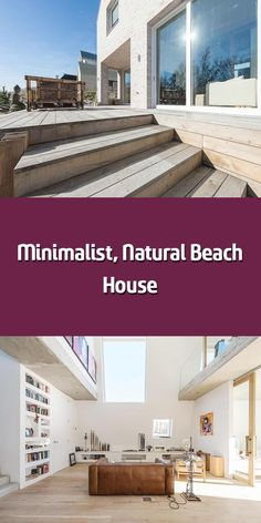 Rising out of the Westlandse Zoom dunes like a rock on the beach, this minimalist family home embraces natural inspiration in more than just design. Global A Cleaning White Walls, Beach Grass, Solar Heater, Like A Rock, Beach Rocks, Outdoor Living, Outdoor Decor, Architect Design, Beach House Decor