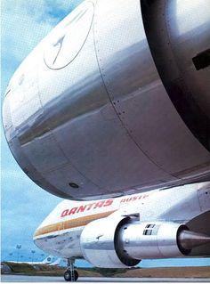 Qantas B 747