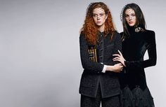 Natalie Westling & Vittoria Ceretti by Karl Lagerfeld for Chanel Pre-Fall 2017 Campaign