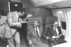 عام  1978:السادات ورئيس الوزراء الإسرائيلى مناحم بيجين وحسنى مبارك
