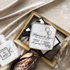 お家用にしてもおしゃれ♡リングピローを「平らなリングプレート」にするのが今風♡ | marry[マリー] Diy Wedding Bouquet, Fragrance, Perfume