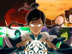 The Legendary Avatar Korra