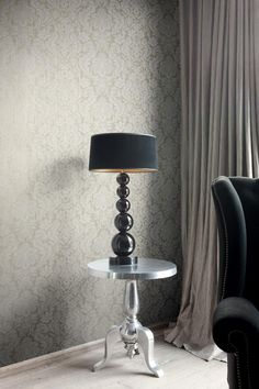 Sonata | Octopus 5 – Dobré tapety Table Lamp, Lighting, Wallpaper, Octopus, Home Decor, Style, House Ideas, Patterns, Swag