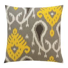 DwellStudio Batavia Citrine Pillow   Wayfair