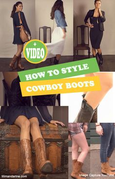 How To Style Cowboy Boots Ideas