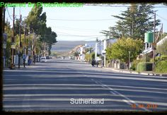 Sutherland, Karoo My Land, South Africa, Cape, Street View, Mantle, Cabo, Cloak
