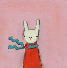 rouge lapin.