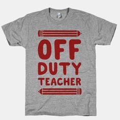 Off Duty Teacher