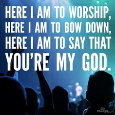 My worship is for real