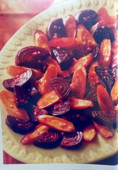 What's for Dinner?: Roasted Beets and Carrots