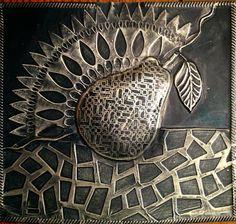diy metal embossing using stencils, wonderful ideas/diys here