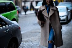 New York Fashion Week Fall 2016 Street Style, Day 5 - -Wmag