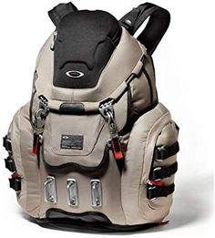 c02239c77796 Amazon.com   Oakley Kitchen Sink Backpack Grey Fossil   Hiking Daypacks    Sports   Outdoors