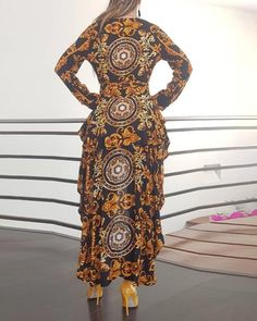 S-XXL Plus Size Women Bohemian Printed Long Sleeve Shirt Women Autumn Blouse Casual Ruffles Irregular Hem Female Tops Shirts Trend Fashion, Fashion Outfits, Emo Outfits, Punk Fashion, Lolita Fashion, Fashion Women, Summer Outfits, Bohemian Blouses, Latest African Fashion Dresses
