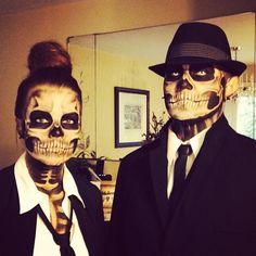 human skeleton costumes