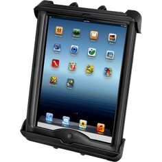 RAM Mount Tab-Tite Universal Clamping Cradle f-Apple iPad w-LifeProof & Lifedge Cases [RAM-HOL-TAB17U]